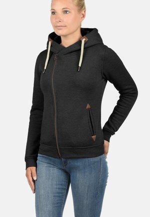 VICKY  - Zip-up hoodie - dark grey