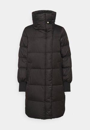 MATTE FINISH COAT  - Down coat - black