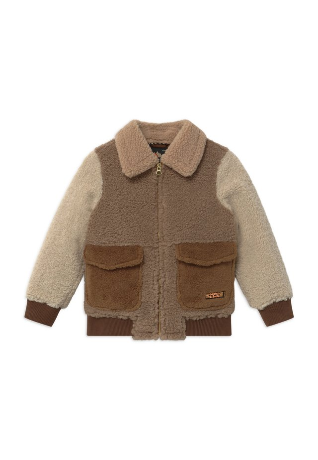Giubbotto Bomber - light brown/off-white