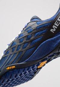 Merrell - GLOVE 4 - Trail running shoes - blue - 5