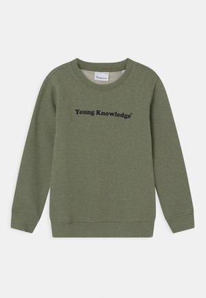 LOTUS YOUNG KNOWLEDGE - Mikina - sage melange