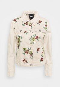 Desigual - BRILLIGRIN - Denim jacket - white - 0