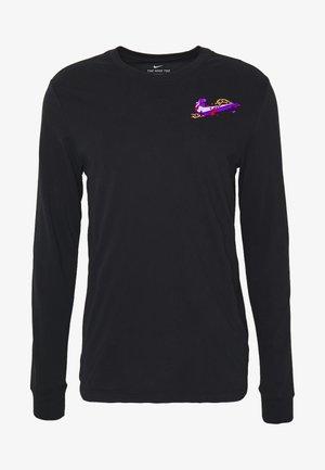 DRY TEE HOOK - Long sleeved top - black