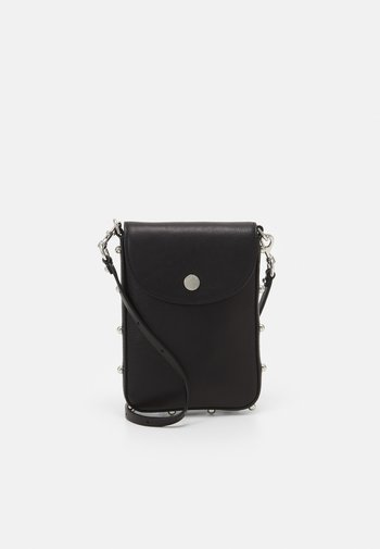ENVELOPE PHONE CROSSBODY - Phone case - black