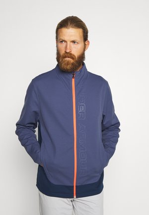 STORM FULL ZIP - Treningsjakke - blue ink/academy/beta