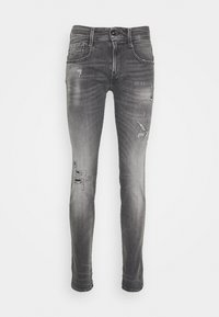 Replay - ANBASS AGED - Jeans Skinny Fit - medium grey - 3