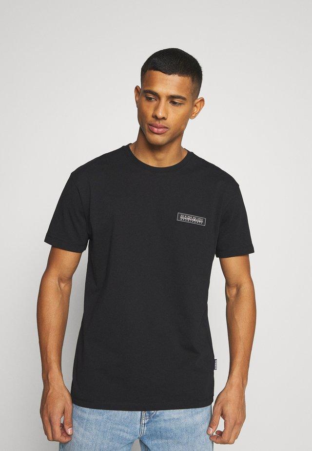 PATCH UNISEX - T-shirt imprimé - black