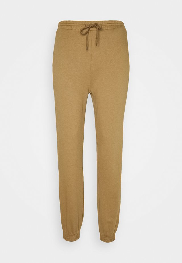 HOLLY PANTS - Tracksuit bottoms - dark fennel