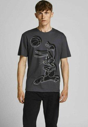 SPACE JAM  - Print T-shirt - asphalt