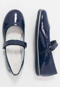 Melania - Ballerine con cinturino - blue - 0