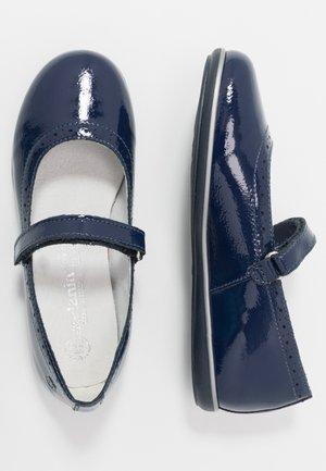 Baleríny s páskem - blue