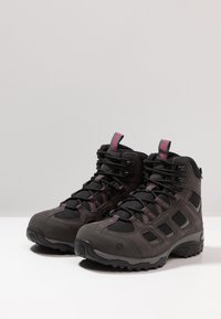 Jack Wolfskin - VOJO HIKE 2 TEXAPORE MID - Hiking shoes - dark steel/black - 2