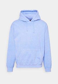 Mennace - BREEZE RECEIPT REGULAR HOODIE - Collegepaita - light blue - 3