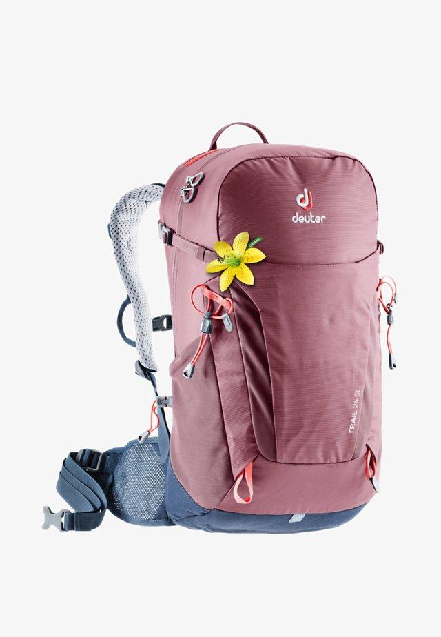 TRAIL - Hiking rucksack - blackberry