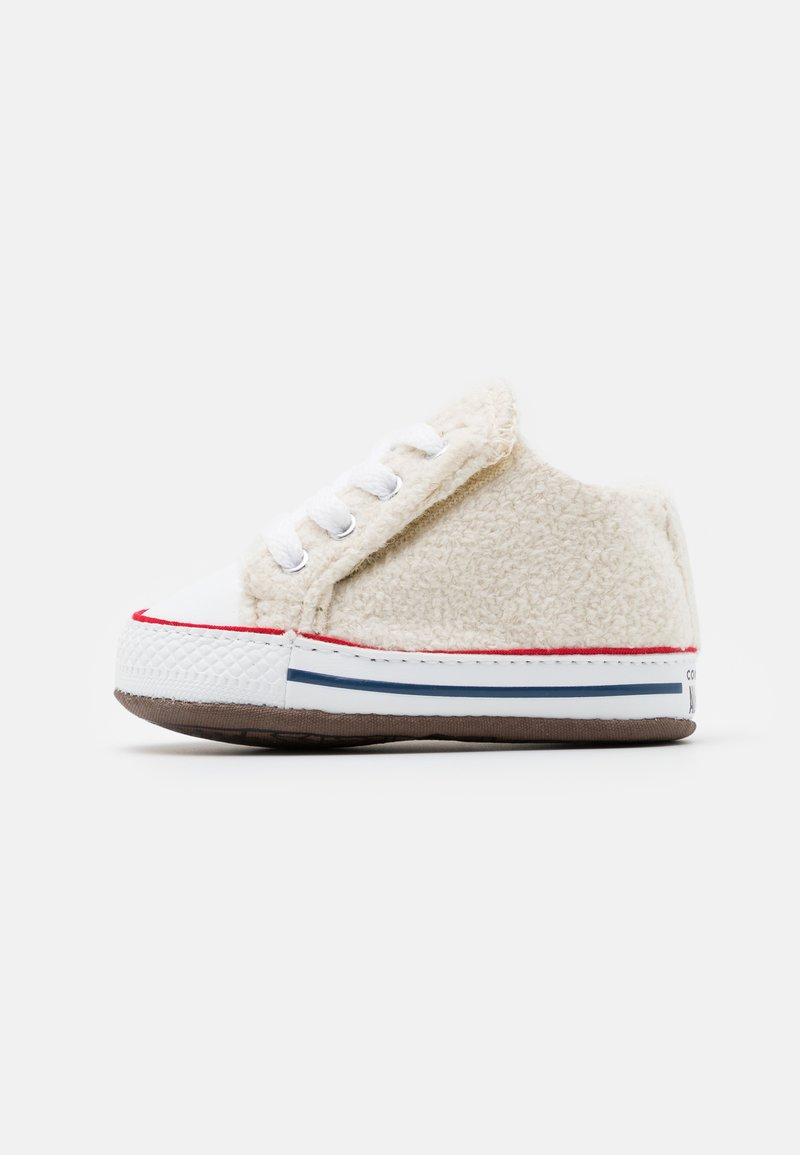 Converse - CHUCK TAYLOR ALL STAR CRIBSTER UNISEX - Chaussons pour bébé - natural ivory/white