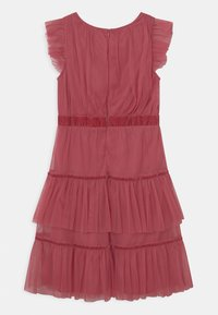 Anaya with love - RUFFLE DRESS WITH TRIM DETAIL - Cocktailjurk - cranberry rose - 1