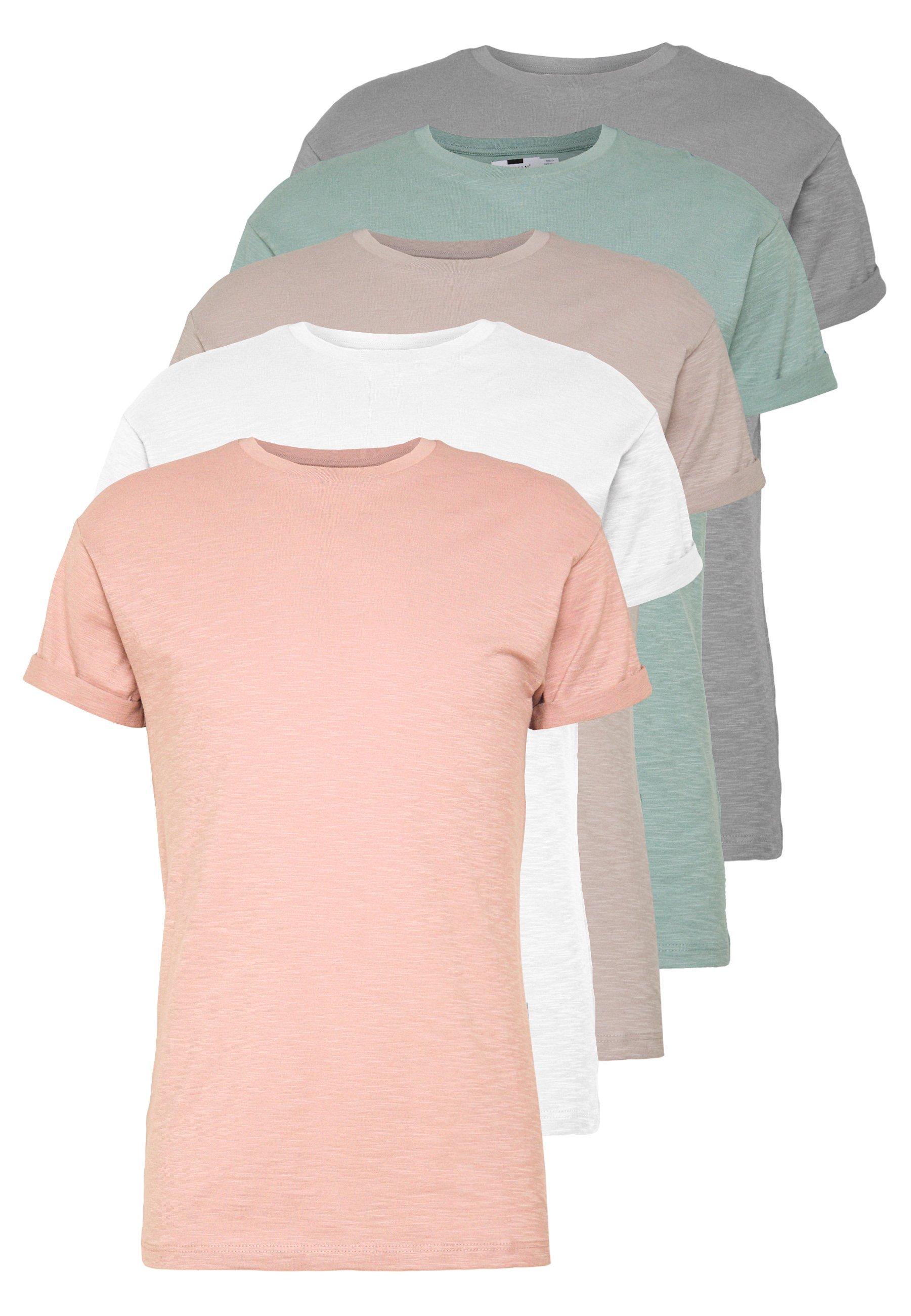 Uomo 5 PACK - T-shirt basic