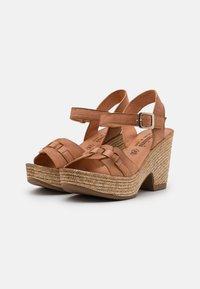 Felmini - MESHA - High heeled sandals - tierra - 2