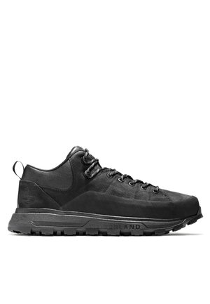 TREELINE LOW - Zapatos con cordones - blackout nubuck