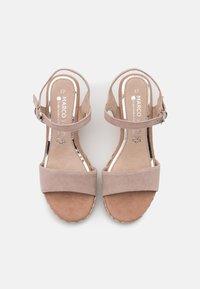 Marco Tozzi - BY GUIDO MARIA KRETSCHMER - High heeled sandals - nude - 5