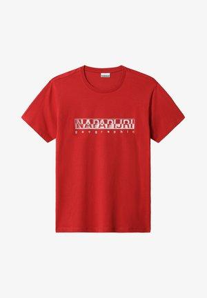 SALLAR - T-shirt print - old red