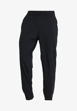 VANISH  - Tracksuit bottoms - black/jet gray