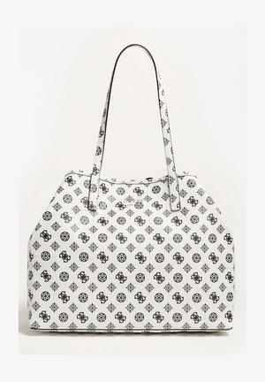VIKKY  - Tote bag - white multi