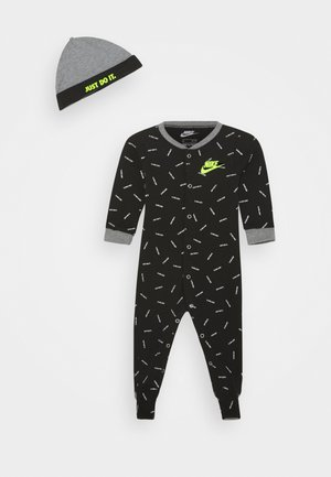 TOSS FOOT COVERALL SET - Mössa - black