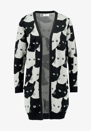 CARDIGAN IDRE CATS - Gilet - grey