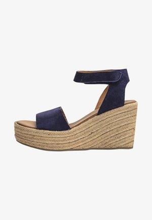 High heeled sandals - nb navy unv