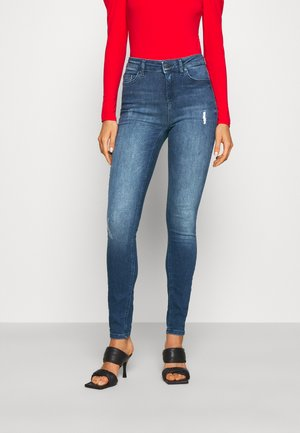 ONLBLUSH LIFE HIGH WAIST - Jeans Skinny Fit - medium blue denim
