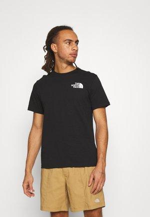 IC CLIMB GRAPHIC TEE - T-shirt con stampa - black
