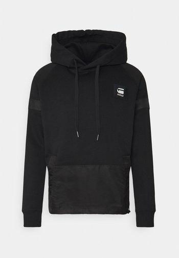 PRISONER MIX HDD SW L\S - Sweatshirt - dark black