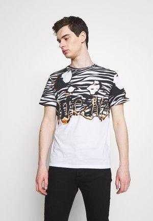 ZEBRA PRINT - Print T-shirt - white