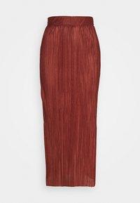 Selected Femme Tall - SLFKIMI MIDI SKIRT - Maksihame - smoked - 0