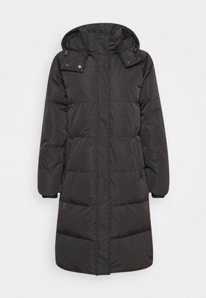 SKYLAR HOOD JACKET - Down coat - black