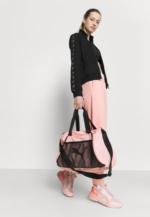 BARREL BAG - Bolsa de deporte - elektro peach/black