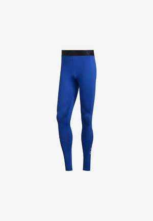 ALPHASKIN 2.0 SPORT LONG TIGHTS - Punčochy - blue