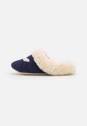 SLIPPET LUXE - Slippers - dark blue