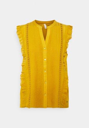 ISLA - Camiseta estampada - ochre yellow