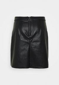 Vero Moda Tall - VMSYLVIA SHORT SKIRT TALL - Mini skirt - black - 1