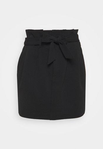 ONLCAROLINA SKIRT - Miniskjørt - black