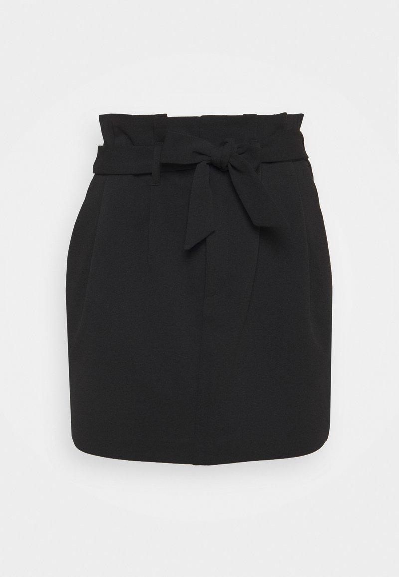 ONLY - ONLCAROLINA SKIRT - Miniskjørt - black