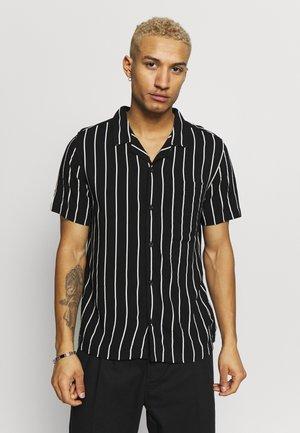 PINSTRIPE - Shirt - black