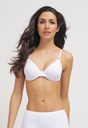 COTTON SENSATION - Underwired bra - white