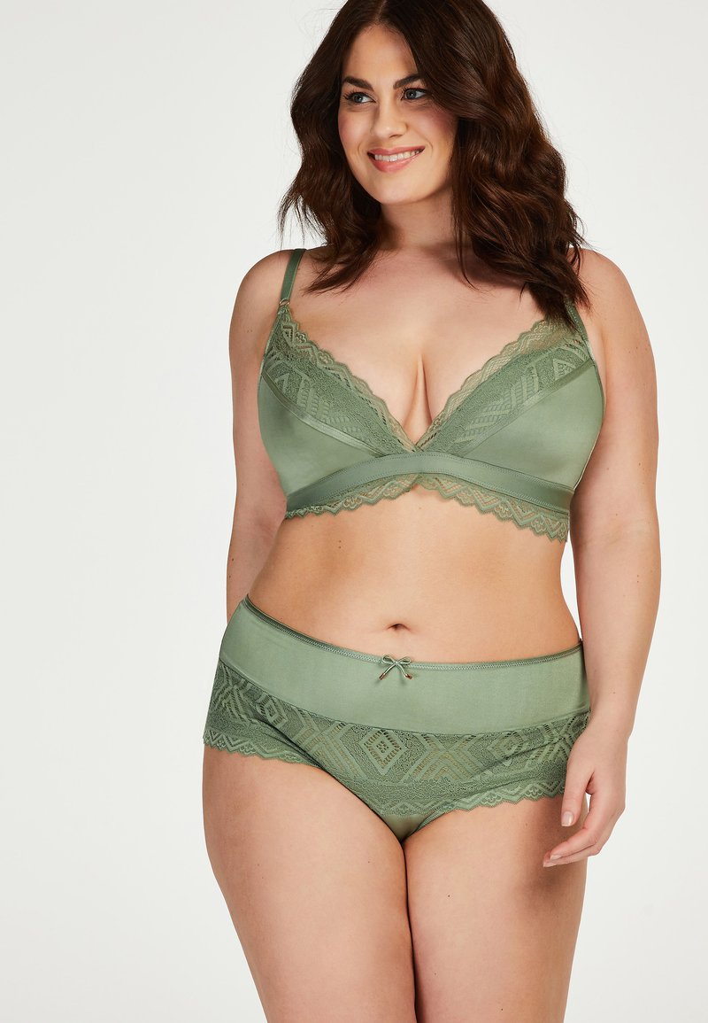 Hunkemöller - RABELLA I AM DANIELLE - Pants - green