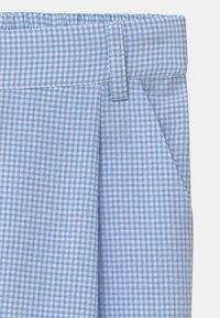 Grunt - LIV CHECK - Trousers - light blue - 2