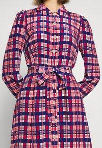 LK Bennett - EVELYN - Košilové šaty - cerulean multi - 8