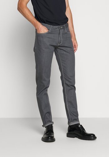 Jeansy Straight Leg - light grey