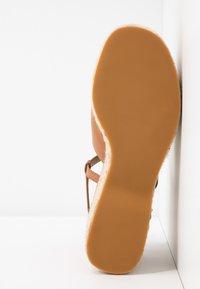 Topshop - WAKE - Sandály na vysokém podpatku - tan - 6